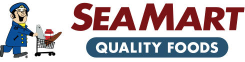 A theme logo of Sea Mart Quality Foods